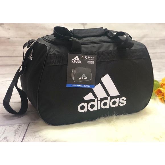 Adidas Diablo small duffel Athletic gym bag 60668c883e44e